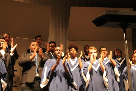 The GHS Choir Department presented its first concert of the year Oct. 16.