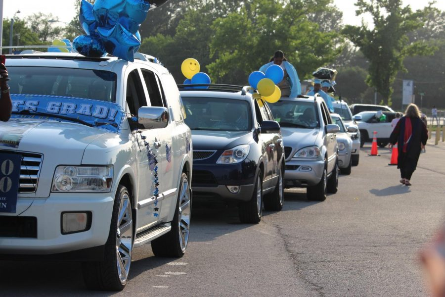 A parade was the perfect send-off for GHS graduates