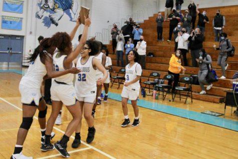 Girls Basketball makes history at Districts